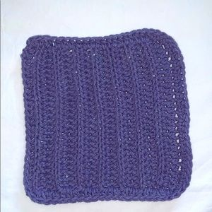 Hand Crafted Purple All Purpose 100% Cotton Cloth